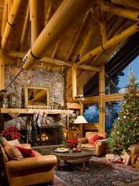 montana-log-home-great-room