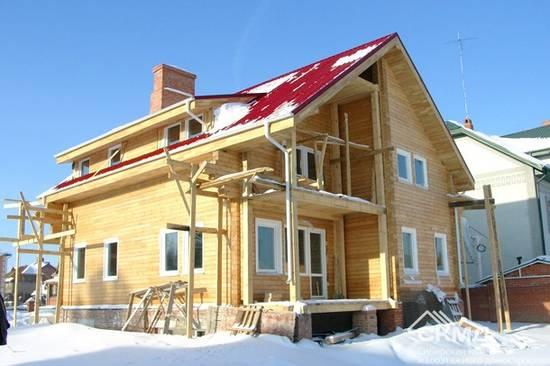 деревянных домов