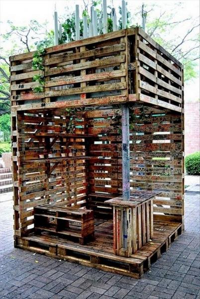Деревянные поддоны: интересные идеи использования в доме и на участке
