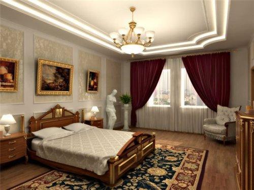 Дизайн интерьера спальни. Дизайн маленькой спальни. Классический стиль. Фото в фото