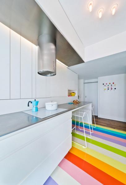Дизайн пола на кухне: идеи и фото современных интерьеров