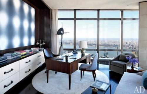 Домашний офис — рабочий кабинет дома в фото