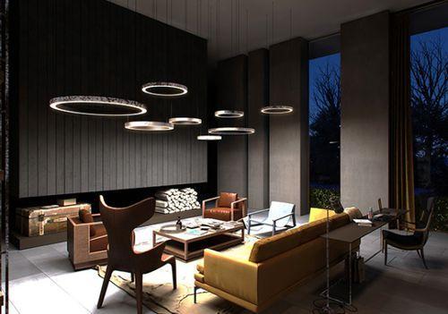 Элегантный интерьер квартиры в фото
