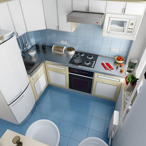 Фото кухни 6 кв. м в фото