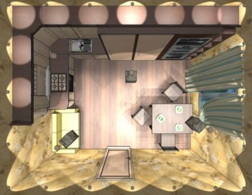 Интерьер кухни 12 кв м. Кухня в японском стиле в фото