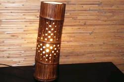 Изготовление светильников из бамбука своими руками в фото