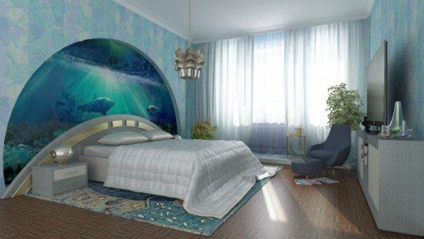 Как оформить стены в спальне стильно и гармонично
