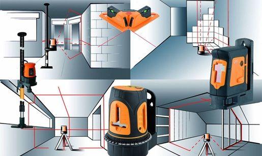Как пользоваться лазерным уровнем: инструкция в фото
