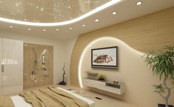 Как размещать светильники на потолке в фото