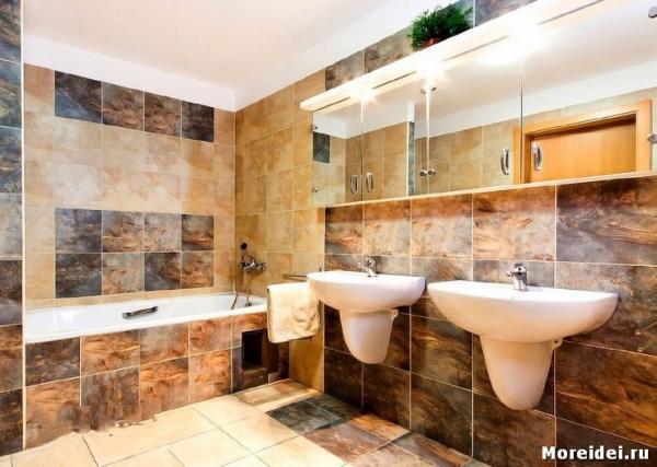 Как сделать ремонт в ванной комнате своими руками?