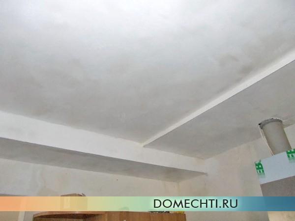 Как шпаклевать потолок из гипсокартона: пошаговые рекомендации с фото