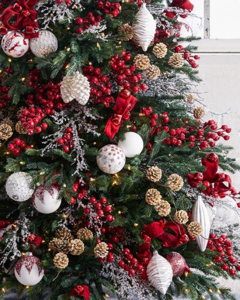 Как украсить елку на Новый год 2018: обзор лучших трендов праздничного декора и идеи своими руками
