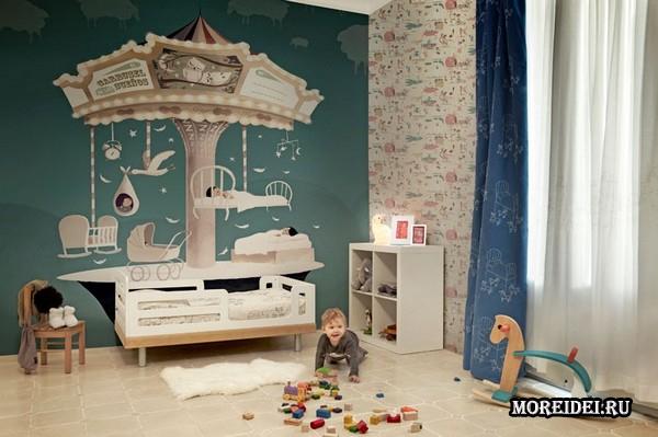 Как выбрать материал обоев для детской комнаты?