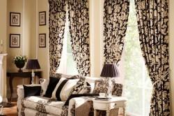 Какие шторы выбрать в зал: подбираем цвет и фасон в фото