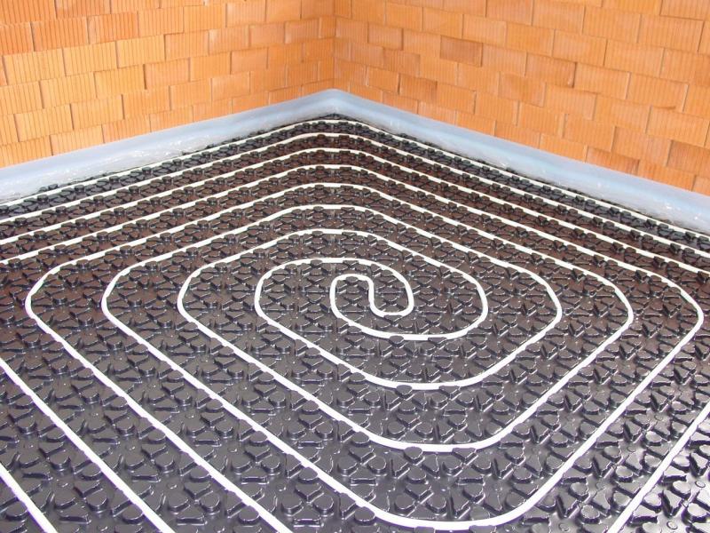Комбинированная система отопления: радиаторы и теплый пол, схема в фото