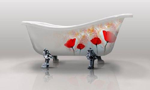 Красим ванну в домашних условиях в фото