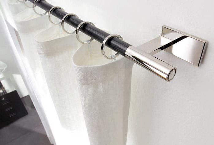 Крепления для штор: различные варианты и рекомендации в фото