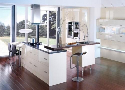 Кухни в стиле хай-тек в фото