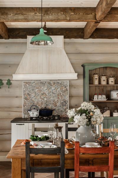 Кухня для дачи в фото