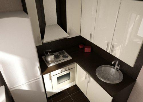 Маленькая кухня. Дизайн интерьера маленькой кухни своими руками. Фото в фото