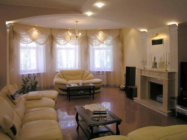 Маленький зал в квартире: 4 интерьерных направления, фото