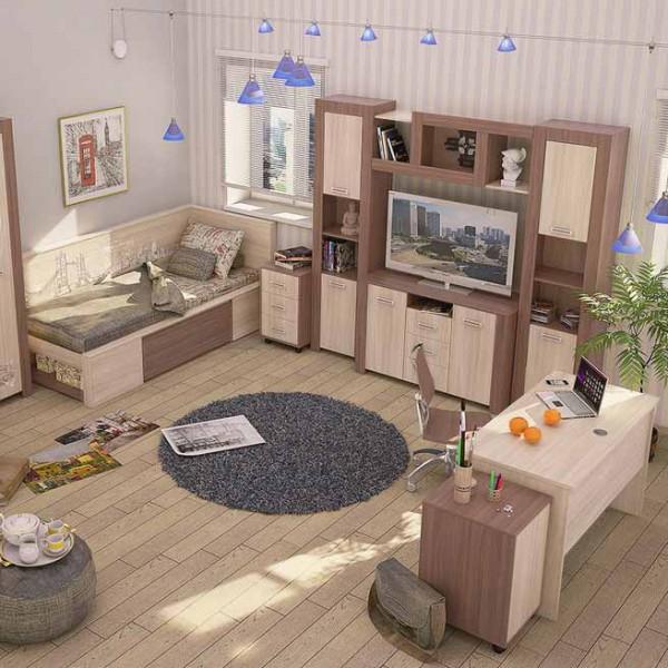 Мебель для детской комнаты: корпусные и модульные системы