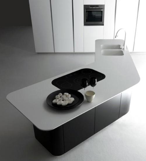 Минимализм в интерьере кухни в фото