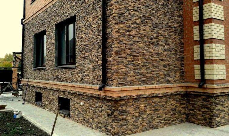 Отделка фасада дома: варианты и особенности в фото