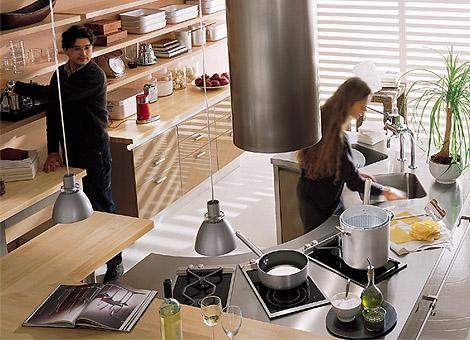 Овальные кухни в фото
