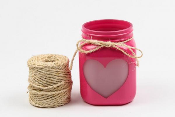 Подсвечник ко Дню святого Валентина – два мастер-класса