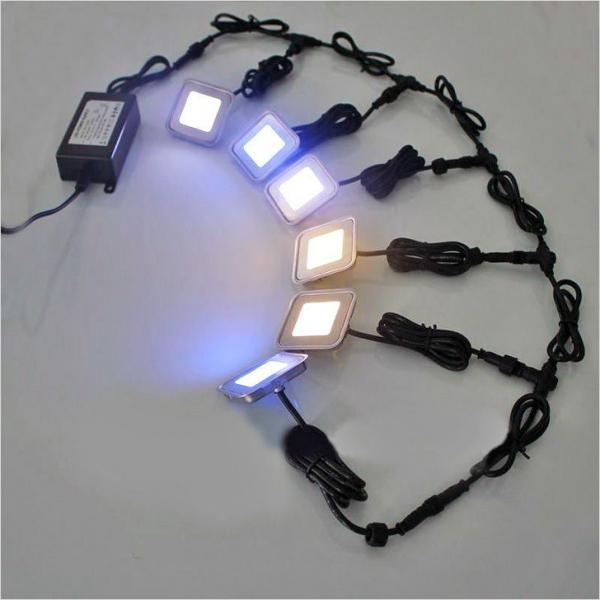 Подсветка пола в коридоре: светодиодной лентой своими руками в фото