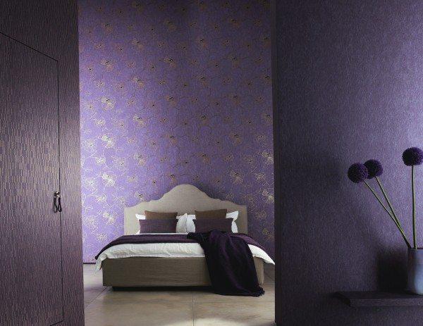 Поклейка обоев в спальне: тонкости процесса
