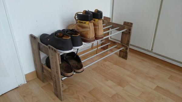 Полка для обуви своими руками — широкое поле дизайнерских возможностей