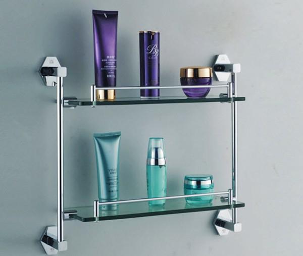 Полки для ванной комнаты из нержавеющей стали и других металлов: сочетание красоты и надежности