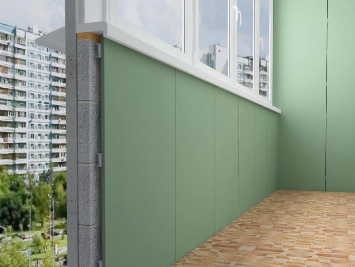 Последовательность работ и выбор материалов при внутренней отделке балкона своими руками в фото