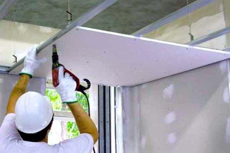Потолки из гипсокартона в спальне – красота, практичность и отсутствие трудоемкости в создании