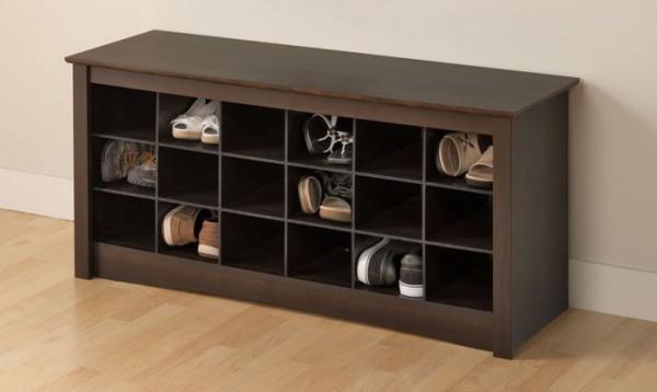 Современная обувница с сиденьем в прихожую — расширяем зону комфорта