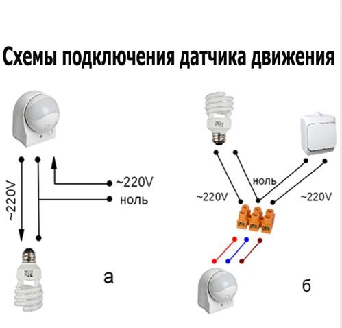 Светильники с датчиком движения для подъездов в фото