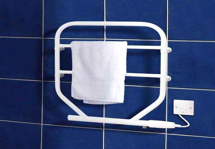 Установка и подключение полотенцесушителя в фото