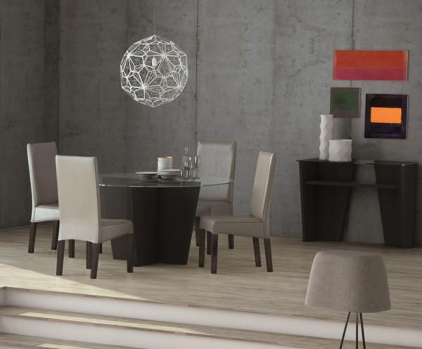 Выбираем круглый кухонный стол
