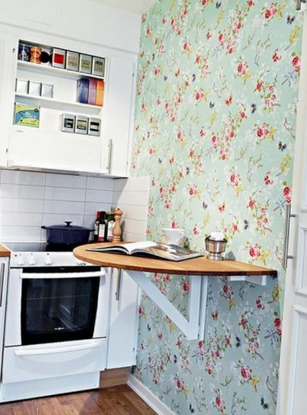 Выбираем обои на кухню: идеи, практические советы и фото