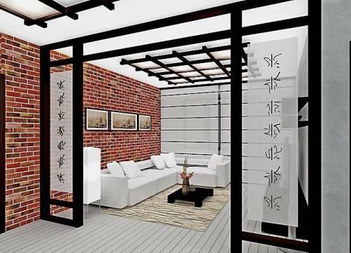 Японский стиль в интерьере в фото