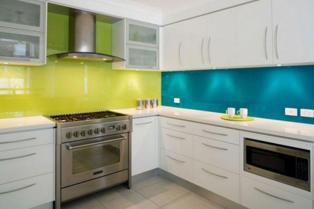 Яркая кухня от Kim Duffin в фото