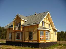 каркасные дома нижний