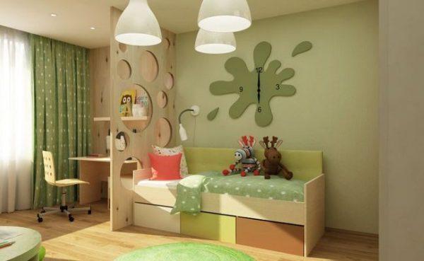 Искусственный свет в детской комнате