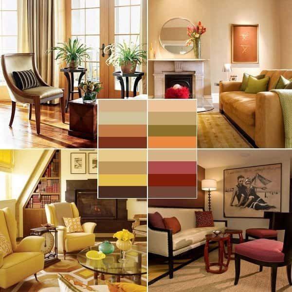 Оформление интерьера, выбор цветовой гаммы