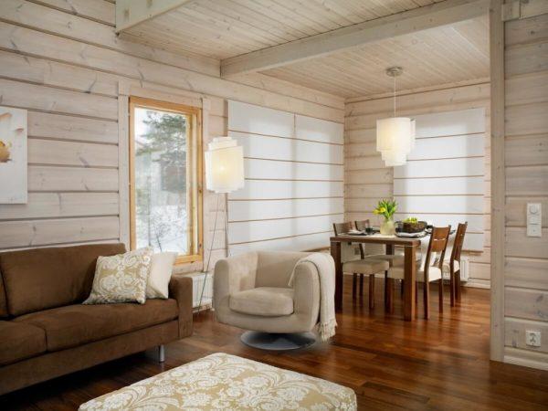 Дизайн внутренней отделки загородного дома