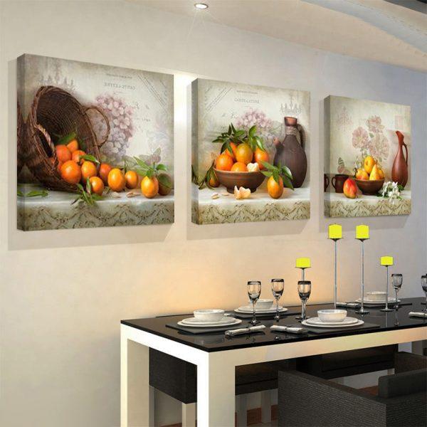 Живописное оформление кухни